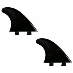"saruSURF 4.5"" 115mm フレックス性 フィン スタビライザー ショートボード SUP リバー サーフ FCS 互換性 2枚"