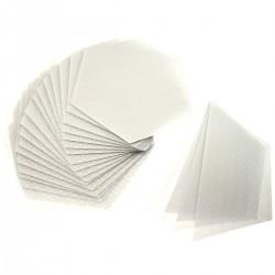 エコ グリップ eco 滑り止め クリアデッキ 六角形 6角形のフィルム テールデッキ ノーズ ロングボード用 SUP用 NO ワックス